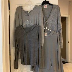 Bundle of 4 hoodie top great condition size M
